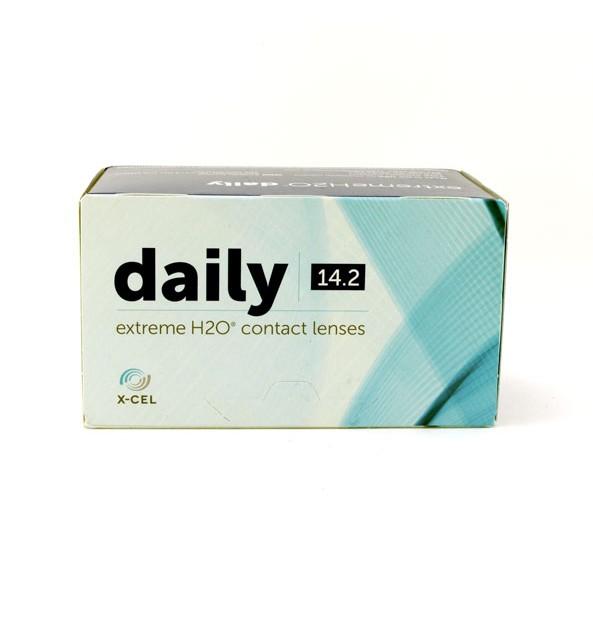لنز طبی روزانه اکسل Extreme H2O Daily