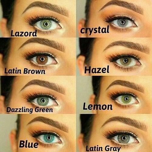 گالری لنز رنگی لومینس