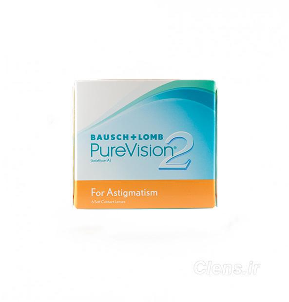 لنز طبی فصلی آستیگمات پیورویژن PureVision 2HD for Astigmatism