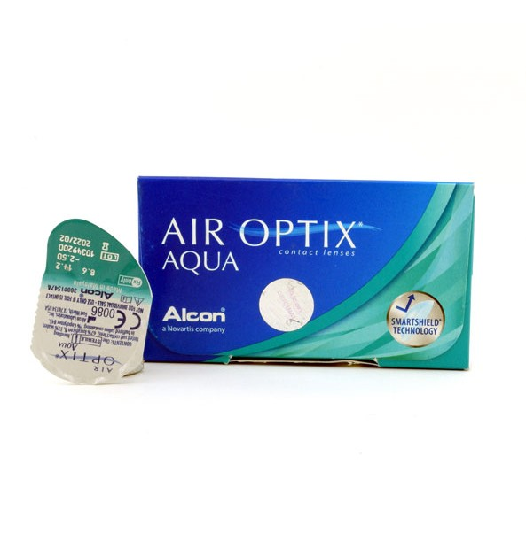 لنز طبی سیباویژن ایراپتیکس Air Optix Aqua