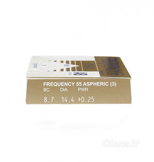لنز طبی کوپرویژن فرکانسی آسفریک Frequency 55 Aspheric