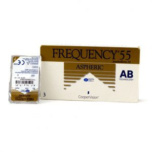 لنز طبی کوپرویژن فرکانسی آسفریک Frequency 55 Aspheric