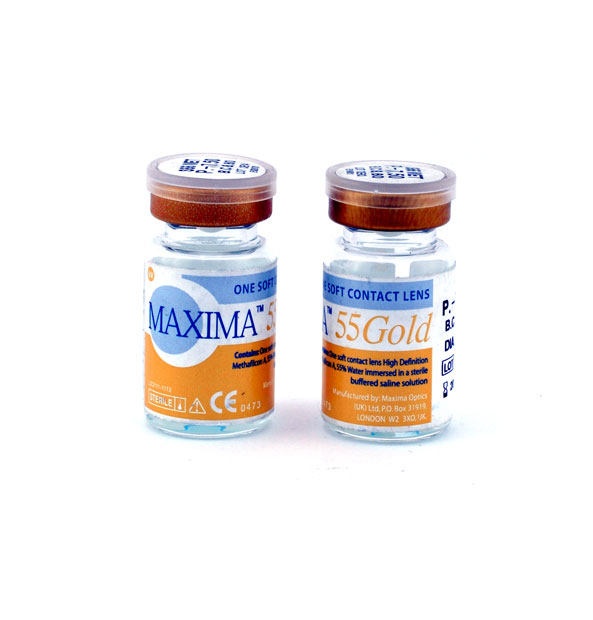 لنز طبی سالانه ماکسیما Maxima vial 55uv