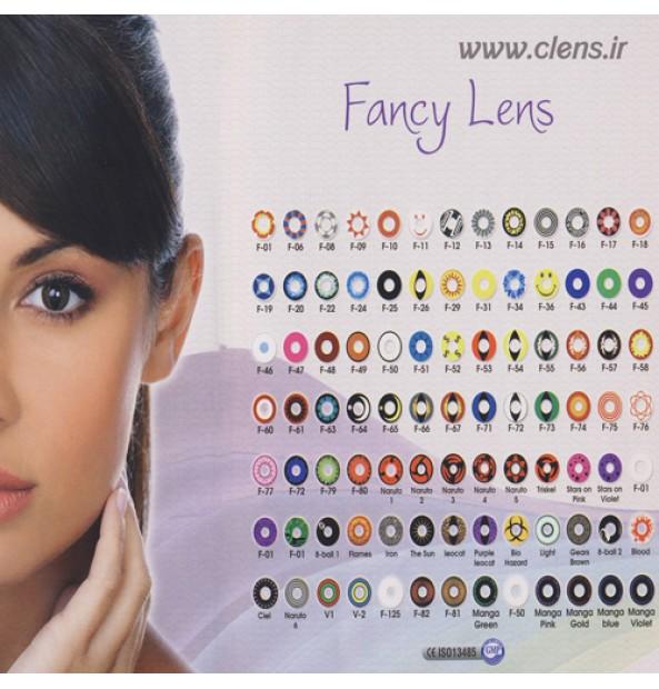 لنز رنگی رینبو Rainbow